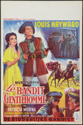 "Movie Posters:Adventure, The Lady and the Bandit (Columbia, 1951). Belgian (14"" X 22"").Adventure.. ..."