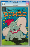 Golden Age (1938-1955):Funny Animal, Four Color #668 Dumbo - First Printing (Dell, 1955) CGC FN+ 6.5Off-white to white pages....