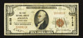 National Bank Notes:Pennsylvania, Jermyn, PA - $10 1929 Ty. 1 The First NB Ch. # 6158. ...