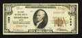 National Bank Notes:Maine, Biddeford, ME - $10 1929 Ty. 1 The First NB Ch. # 1089. ...