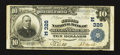 National Bank Notes:Pennsylvania, Mechanicsburg, PA - $10 1902 Plain Back Fr. 624 The Second NB Ch. #(E)326. ...