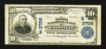 Knoxville, TN - $10 1902 Plain Back Fr. 626 The Third NB Ch. # (S)3708