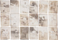 Baseball Collectibles:Photos, Early 1900's Pittsburgh Pirates Photographs Lot of 18 - With HonusWagner!...