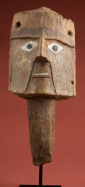 Antiques:Antiquities, Huari Wood Mask...
