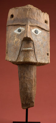 Huari Wood Mask