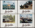 "Movie Posters:War, Apocalypse Now (United Artists, 1979). Lobby Cards (4) (11"" X 14"").War.. ... (Total: 4 Items)"