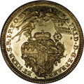 German States:Wurzburg, German States: Wurzburg. Adam Friedrich Goldgulden ND (1755), F-3727, KM347, prooflike AU with minor obverse scratches.. From the Blue Ri...