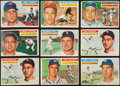 Baseball Cards:Lots, 1956 Topps Baseball Collection (104). ...