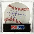 Autographs:Bats, Tony Gwynn Single Signed Baseball PSA Mint 9. ...
