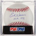Autographs:Baseballs, Earl Weaver Single Signed Baseball, PSA Gem Mint 10. ...