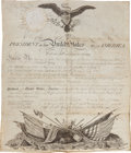Autographs:U.S. Presidents, James Madison Military Appointment Signed...
