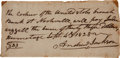Autographs:U.S. Presidents, Andrew Jackson Autograph Document Signed....