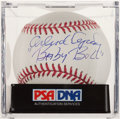 "Autographs:Baseballs, Orlando Cepeda ""Baby Bull"" Single Signed Baseball, PSA Mint 9. ..."