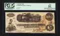 Confederate Notes:1862 Issues, John Boston Hand Signed T40 $100 1862.. ...
