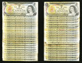 Canadian Currency: , $1 1973 Notes.. ... (Total: 47 notes)