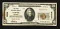 National Bank Notes:Oklahoma, Pawnee, OK - $20 1929 Ty. 1 The First NB Ch. # 5224. ...