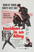 Memorabilia:Poster, Incident in an Alley Movie Poster (United Artists, 1962)....