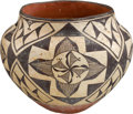 American Indian Art:Pottery, AN ACOMA POLYCHROME JAR. c. 1930...