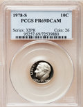 Proof Roosevelt Dimes: , 1978-S 10C PR69 Deep Cameo PCGS. PCGS Population (4755/273). NGCCensus: (317/41). Numismedia Wsl. Price for problem free ...