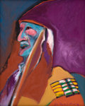 American Indian Art:Photographs, UNTITLED. Fritz Scholder. c. 1970...