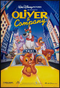 "Movie Posters:Animated, Oliver & Company and Other Lot (Buena Vista, 1988). One Sheets(2) (27"" X 40"") DS. Animated.. ... (Total: 2 Items)"