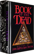Books:Signed Editions, [John Skipp and Craig Spector, editors.] The Book of theDead. Willimantic: Mark V. Ziesing, 1989. First edition. ...