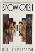 Books:Signed Editions, Neal Stephenson. Snow Crash. New York: Bantam Books, [1992].First edition. Signed by the author. Octavo. 440 pa...