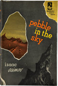 Books:Signed Editions, Isaac Asimov. Pebble in the Sky. Garden City: Doubleday& Company, 1950. First edition. Signed by the author. Oc...