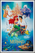 "Movie Posters:Animated, The Little Mermaid (Buena Vista, 1989). One Sheet (27"" X 41""). DS.Animated.. ..."