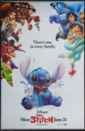 "Movie Posters:Animated, Lilo & Stitch (Buena Vista, 2002). Lenticular 3-D One Sheet(27"" X 40"") Advance. Animated.. ..."