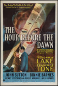 "Movie Posters:Drama, The Hour Before the Dawn (Paramount, 1944). One Sheet (27"" X 41"").Drama.. ..."