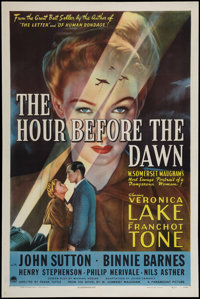 """The Hour Before the Dawn (Paramount, 1944). One Sheet (27"""" X 41""""). Drama"""