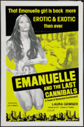 "Movie Posters:Sexploitation, Emanuelle and the Last Cannibals and Other Lot (AmbassadorPictures, 1984). One Sheets (2) (23"" X 34.5"" & 27"" X 37.5"").Sexp... (Total: 2 Items)"