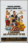 "Movie Posters:James Bond, The Man with the Golden Gun (United Artists, 1974). Belgian (14"" X21""). James Bond.. ..."