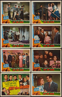 "Hit the Road (Universal, 1941). Lobby Card Set of 8 (11"" X 14""). Action. ... (Total: 8 Items)"