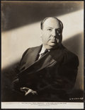 "Movie Posters:Hitchcock, Alfred Hitchcock (United Artists, 1940). Portrait Photo (7.5"" X9.75""). Hitchcock.. ..."