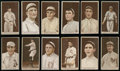 Baseball Cards:Lots, 1912 T207 Brown Background Collection (12). ...