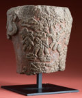 Antiques:Antiquities, A Highly Important Aztec Stone Object...
