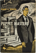 Books:First Editions, Robert A. Heinlein. The Puppet Masters. Garden City:Doubleday & Company, 1951. First edition. Octavo. 219 pages.Pu...