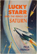 Books:First Editions, Paul French [Isaac Asimov]. Lucky Starr and the Rings ofSaturn. Garden City: Doubleday, 1958. First edition, first ...
