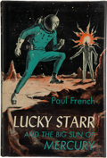 Books:First Editions, Paul French [Isaac Asimov]. Lucky Starr and the Big Sun ofMercury. Garden City: Doubleday, 1956. First edition, fir...