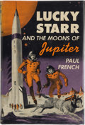 Books:First Editions, Paul French [Isaac Asimov]. Lucky Starr and the Moons ofJupiter. Garden City: Doubleday, 1957. First edition, first...