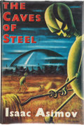 Books:First Editions, Isaac Asimov. The Caves of Steel. London: Boardman, [1954].First British edition, first printing. Octavo. 224 pages...