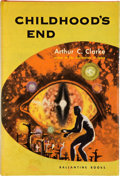 Books:Signed Editions, Arthur C. Clarke. Childhood's End. New York: Ballantine,[1953]. First edition, first printing. Inscribed by Clark...