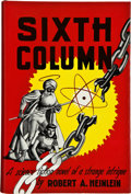 Books:Signed Editions, Robert A. Heinlein. Sixth Column. New York: Gnome Press,[1949]. First edition. Signed by the author on the titl...