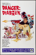 "Movie Posters:Crime, Danger: Diabolik (Paramount, 1968). One Sheet (27"" X 41""). Crime....."