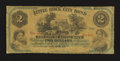 Obsoletes By State:Arkansas, Little Rock, AR- Little Rock City Bond $2 circa late 1860's Rothert UNL. ...