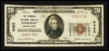 National Bank Notes:Pennsylvania, Somerset, PA - $20 1929 Ty. 1 The Farmers NB Ch. # 5452. ...