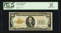 Small Size:Gold Certificates, Fr. 2405 $100 1928 Gold Certificate. PCGS Apparent Very Fine 25.. ...