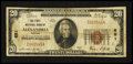 National Bank Notes:Virginia, Alexandria, VA - $20 1929 Ty. 1 The First NB Ch. # 651. ...